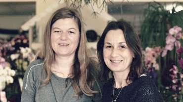 Sonia et Sabrina des «Les Fleurs du Roy»