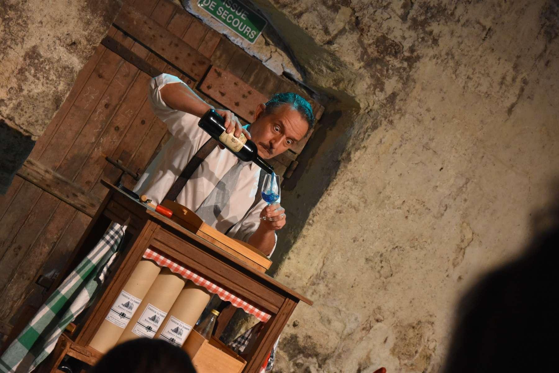 David Allain, comédien dans «Du Rififi dans l'jaja»