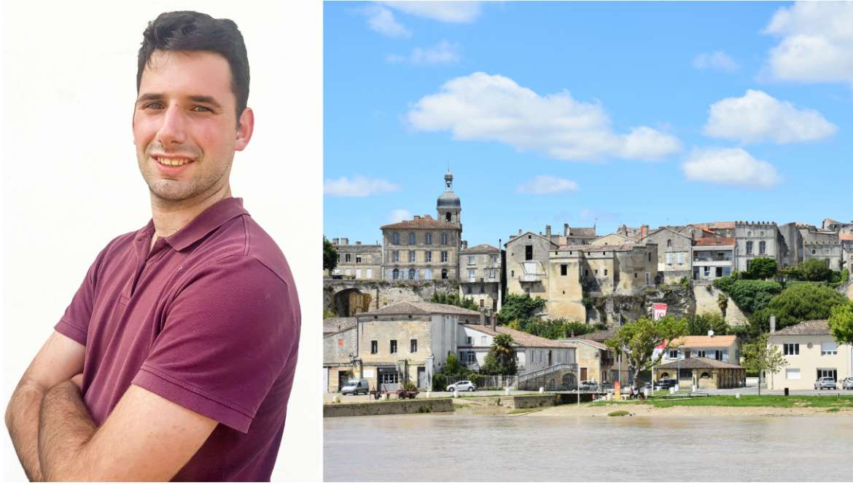 Mathias, nouveau conseiller en séjour à Bourg