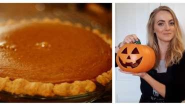 Tarte à la citrouille / Pumkin  pie